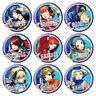 9pcs Anime PERSONA 3 Yuuki Makoto Cosplay Party Pin Button Brooch Badges Gift
