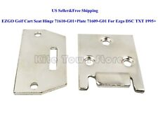 US ezgo Golf Cart Sedile Cerniera 71610-g01+PIASTRA 71609-g01 PER DSC TXT 1995 +