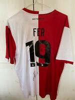 Feyenoord Holland Leroy Fer signed shirt Trikot signiert no matchworn