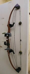 "Vintage Bear Whitetail Hunter Amo Compound Archery Bow String Strength 39"""