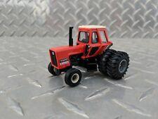 1/64 ERTL custom agco allis chalmers 7020 black belly tractor w/ Duals farm toy