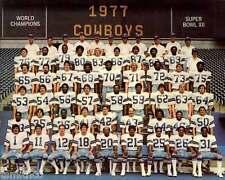 Dallas Cowboys 1977 Superbowl XII Football Champions 8x10 Photo 001