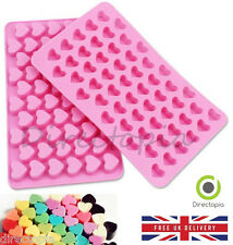 Silicone 55 Small Heart Chocolate Sweet Cake Ice Cube VALENTINE Fondant Mould