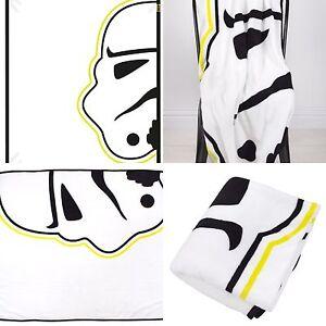 Neu Star Wars VII Storm Trooper Kinder Vlies Decke Jungen Überwurf kraft Erwacht