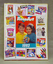 ROSEART 1993 DEALER CATALOG XUXA PRECIOUS DOLLS KODAK  RAGGEDY ANN TMNT TURTLES
