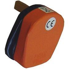 Presa 3x ingressi Arancione alta visibilità Omega 21084-O singola