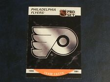 1990-91 90/91 Pro Set Series 2 #579 Philadelphia Flyers Team Facts