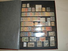 A Red Lighthouse Stock Book With Estimated  481 Finnish Stamps