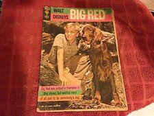 WALT DISNEY'S BIG RED comic book 1962