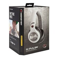 MONSTER N-Pulse Passive Noise Isolation Over Ear DJ Headphones with ControlTalk