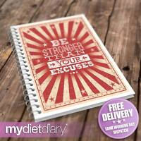 DIET FOOD DIARY - Be Stronger (G028W) 12wk food diary weight loss journal diet