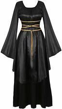 Womens Deluxe Medieval Victorian Costume Renaissance Long Dress Costumes Irish O