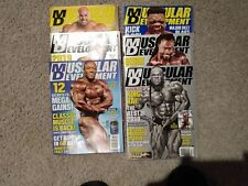 Muscular Development Magazine 6 Back Issues