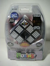 #3050 Electronic Rubik's Revolution Cube Titanium Edition 2008 game of the year!