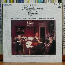 THE BEETHOVEN CYCLE - Guarneri String Quartet (Laser Disc)