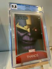 Thanos #13 CGC 9.8 Trading Card Variant - 1st App Cosmic Ghost Rider