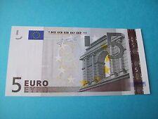 BILLET NEUF DE 5 EURO FRANCE L 020 J 5 SIGNATURE JEAN-CLAUDE TRICHET