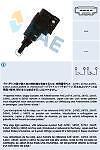 Interruptor luces de freno Stop Fae 24763 - Audi - Seat - Skoda - VW