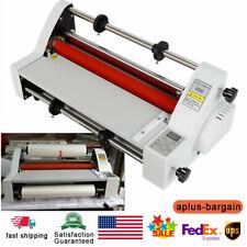 110v 700w V350 Laminating Machine Hot And Cold Roll Digital Laminator Top