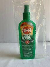 OFF! DEEP WOODS INSECT REPELLENT SPRAY Gnats Mosquitoes Ticks Flies 8hr 6oz