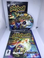 Gottlieb Pinball Classics - Sony PS2 - Tested And Complete