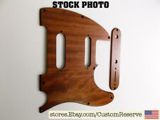 CR® WOOD PICKGUARD & CONTROL PLATE FOR FENDER TELECASTER NASHVILLE - BUBINGA