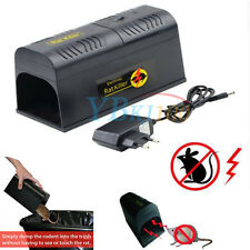 220V Electronic Mouse Rat Rodent Killer Zapper Trap Pest Control Mice Repeller