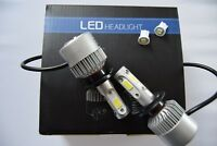 FORD GALAXY 2000+ Headlight Kit set 2x H7 6500K Bulbs PURE WHITE +501