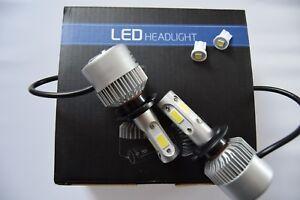 FORD FOCUS 2011+Headlight Kit set 2x H7 6500K Bulbs PURE WHITE +501
