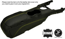 YELLOW STITCH CENTRE CONSOLE & ARMREST LEATHER COVERS FITS FORD MUSTANG 15-17