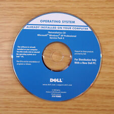Genuine Dell Reinstallation CD Windows XP Pro SP3 YH3KD / 04PW6N