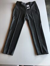 Mango Grey Side Zip Pants Size 12