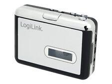 LogiLink Walkman mit Konverter Funktion Schwarz/silber