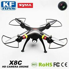 Syma X8C 2.4Ghz 6-Axis Gyro RC Quadcopter Drone UAV RTF UFO with 2MP HD Black
