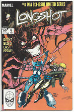 Longshot #6 (NM) 1986, Dr. Strange appearance