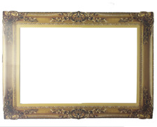 Photo Booth Props Antique Paper Frame Large Photo Frame Props Picture Gold