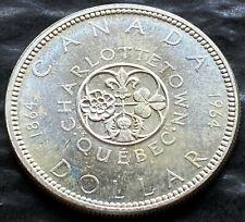 1964 Canada Silver $1 Dollar Coin - Great Condition