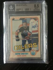 1981-82 OPC O-Pee-Chee Wayne Gretzky #106 3rd year BGS 8.5 W/Subs ** New Listing