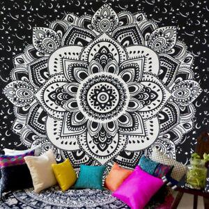 Bohemian Mandala Indian Tapestry Hippie Wall Hanging Bedspread Blanket Decor Mat
