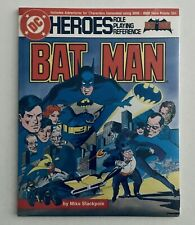 BATMAN: DC HEROES ROLE PLAYING REFERENCE GAME, Mayfair (1986), Sealed, NM