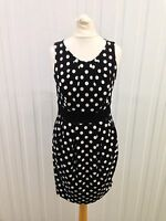 Womens Kardashian Kollection Polka Dot Dress - Uk8 - Great Condition