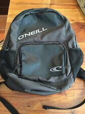 O'neill Black/Dark Grey Book Bag Hiking Bag Back To School