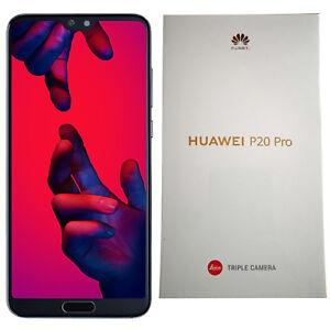 BNIB Huawei P20 PRO Single-SIM 128GB Midnight Blue Factory Unlocked 4G SIMFree