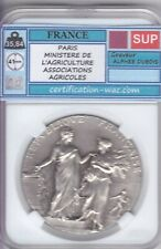 MEDAILLE PARIS MINISTRE DE L'AGRICULTURE ASSOCIATIONS AGRICOLES