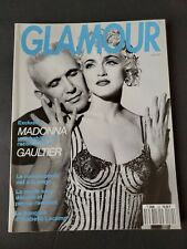 French Glamour June 1990 MADONNA Cindy Crawford KATE MOSS Topless Estelle L RARE
