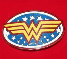 WONDER WOMAN DC COMICS JUSTICE LEAGUE Superhero Logo UNISEX BELT BUCKLE New