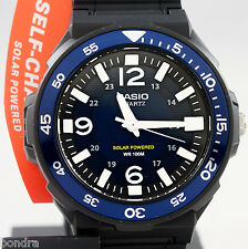 Casio MRWS310H-2BV Mens Tough Solar Divers Watch Blue 100M WR Resin Analog New
