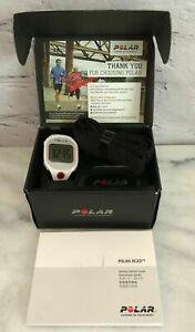 Polar RCX3F WHI Watch Heart Rate Monitor, White/Pink, 90046926