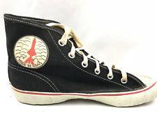 New Vintage Converse Rocket Chuck Taylor Black High Tops Canvas Shoes Size 2.5
