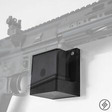 AR 15 Wall Mount (R/L) - Low Profile Gun Rack - Rifle Wall Hanger - Display Hook